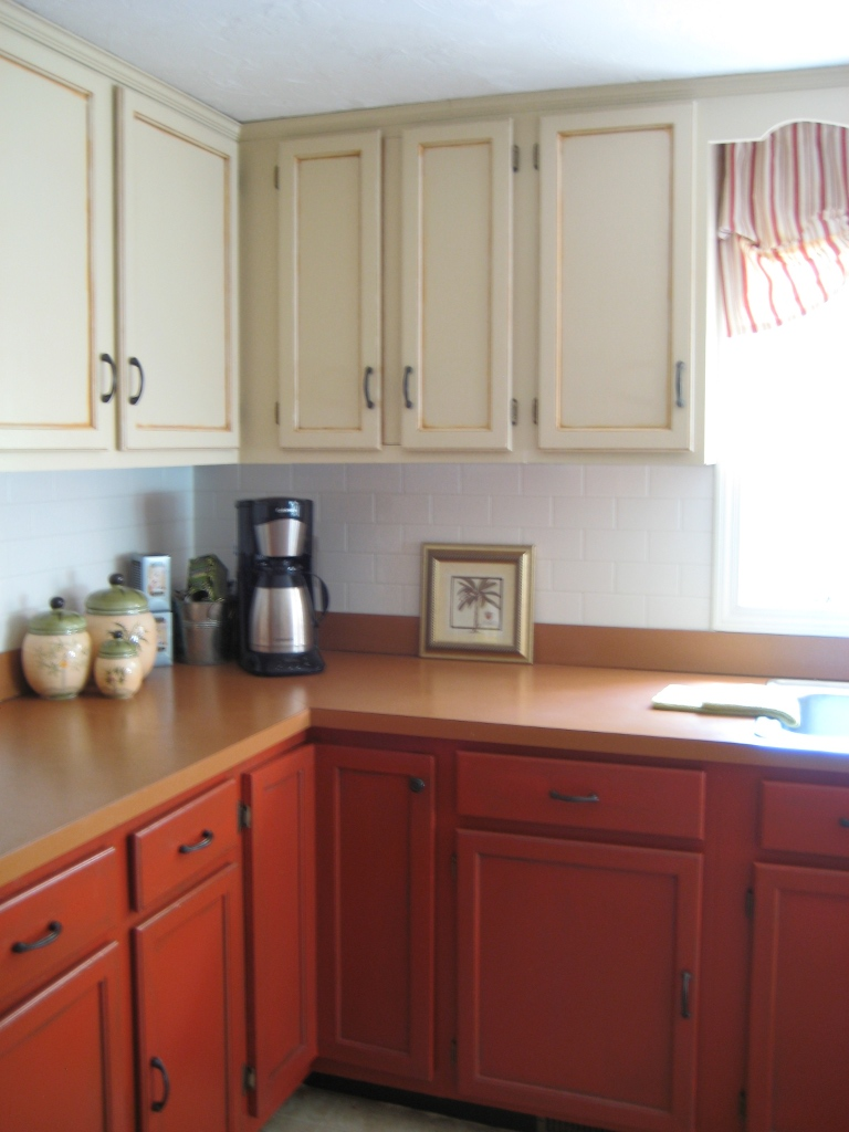 Paint your old golden oak cabinets your home color coach for Oak kitchen cabinets