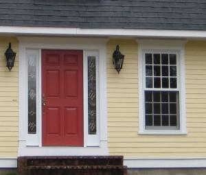 yellow housered door? | gbcn