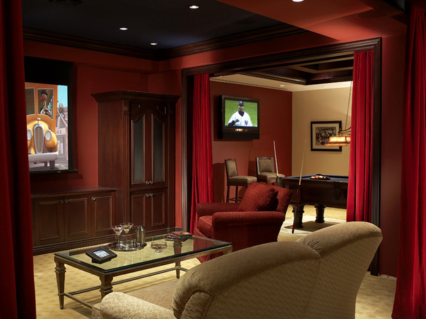 media rooms | Your Home & Color Coach