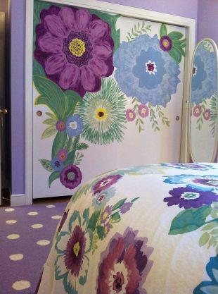 In a Teen's Bedroom, It's Just Paint